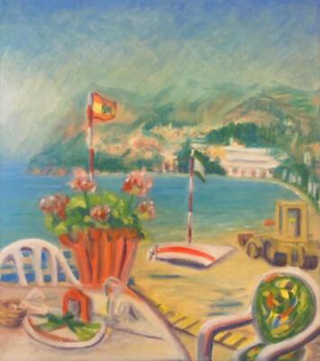 The Beach at La Heruda Costa Del Sol Andalusia