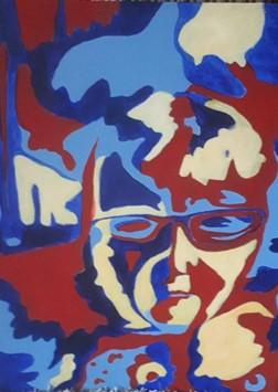Self portrait Warhol style
