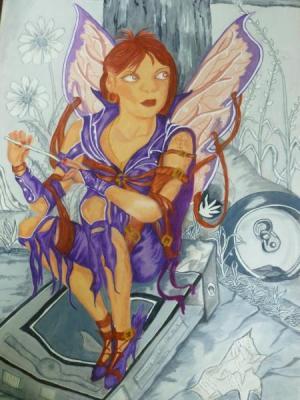 Mauve Fairy