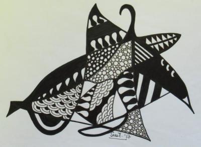 Monochrome Marlin