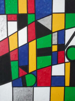 In The Style Mondrian